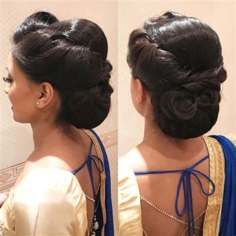 hairstyles for thin hair in saree 12 stunning hair buns and judas to wear with sarees