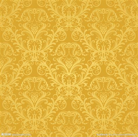 Wallpaper Dinding Luxury Classic Coklat Gold 金色背景设计图 花边花纹 底纹边框 设计图库 昵图网nipic