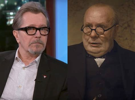 gary oldman s a one man churchill show in darkest hour gary oldman proposed to his wife gisele schmidt as winston