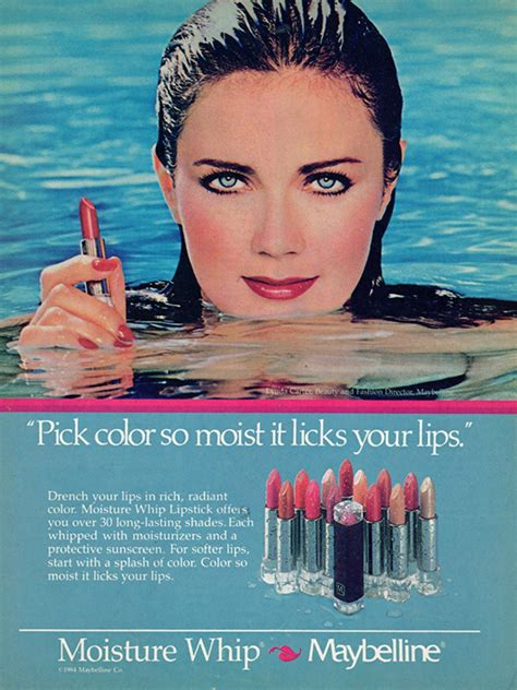 years  maybelline ads show    changed