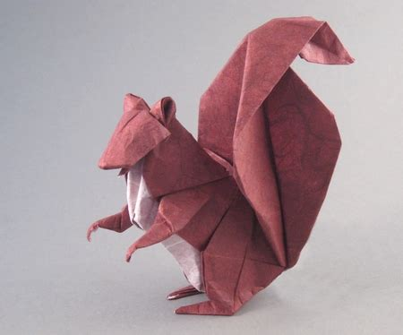 Origami Squirrel - advanced origami by michael g lafosse and richard l