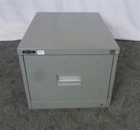 Single Drawer Metal File Cabinet by Godfrey Single Drawer Filing Cabinet Olive Metal 25792 26