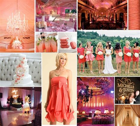 images  coral wedding bridal shower