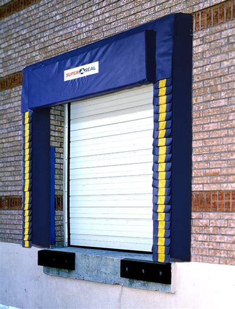 dock curtains series 0251 foam pad curtain dock seal super seal