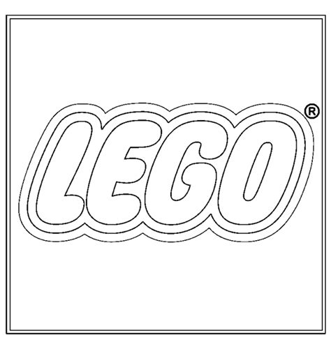 lego logo coloring page coloring books logo lego to print and free download