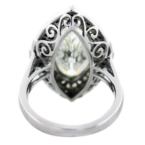 5 carat marquise cut platinum engagement ring boca