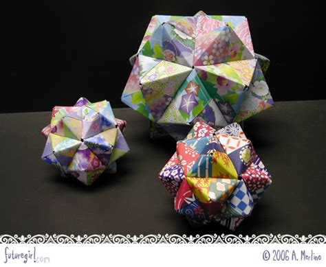 Working Origami - futuregirl craft