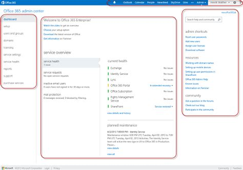 Office 365 Exchange Portal Configuring An Exchange 2013 Hybrid Deployment And