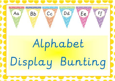 printable alphabet letters for bunting teaching resources games epicphonics com
