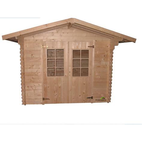 abri jardin bois 28mm abri de jardin bois 5 26m2 28mm ab0293 bricozor