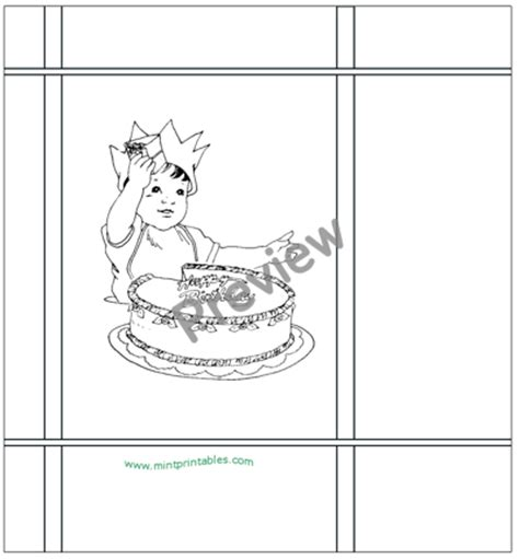 gift bag coloring page printable birthday bag ready to be colored in