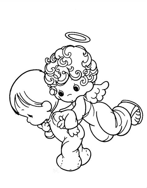 Precious Moments Angel Coloring Pages Az Coloring Pages Precious Moments Baby Coloring Pages Free