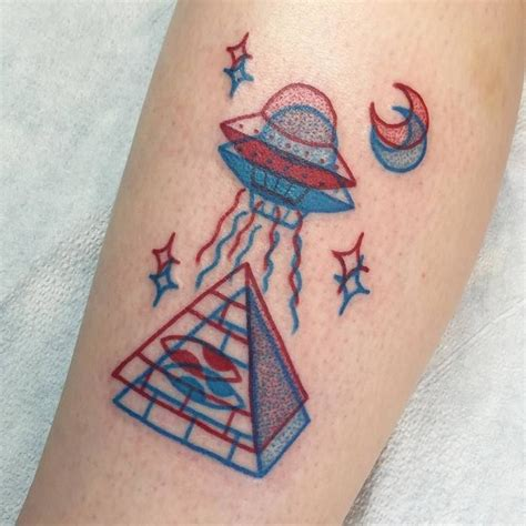 ufo tattoos 25 best ideas about ufo on