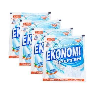 Sabun Ekonomi jual ekonomi sabun krim putih 540 g 4 pcs 60833