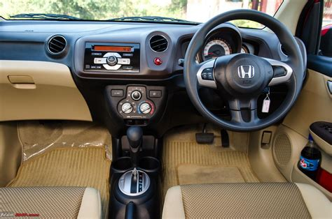 review of honda brio automatic honda brio automatic official review team bhp