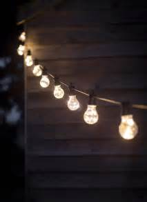 Outdoor Festoon Lighting Festoon Lights 10 Bulbs Garden Trading
