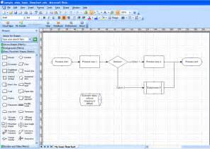 Process Flow Chart Template Visio by Best Photos Of Visio Flowchart Exles Microsoft Visio