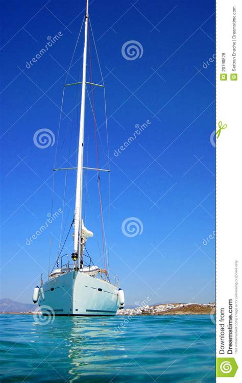 sailing boat in the sea sailing boat in the sea royalty free stock image