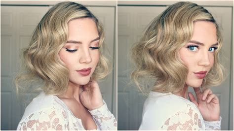 do it yourself hairstyles gatsby you tube great gatsby faux bob 1920s inspired hair youtube