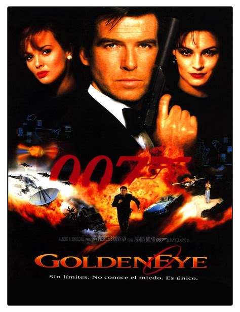 Garden Wall Stickers free shipping new james bond golden eye movie poster