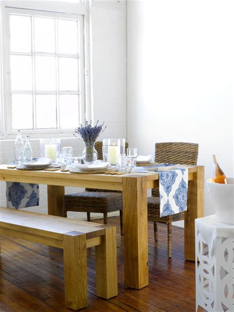 Big Sur Dining Table Ease Into This Casual Big Sur Dining Room Designed