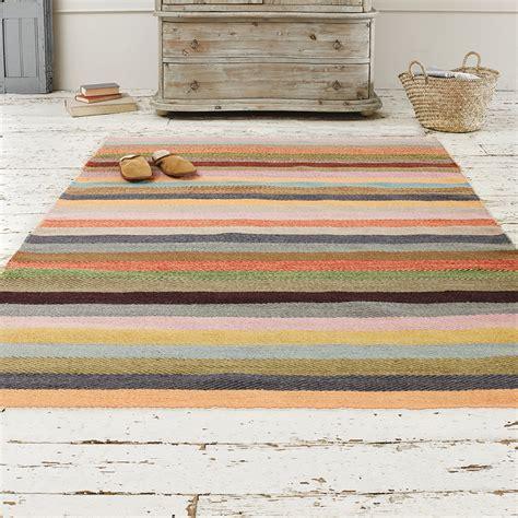 loaf rugs striped herringbone rug tuppence loaf