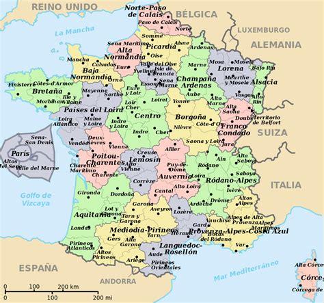 imagenes satelitales de francia francia mapa de las regiones