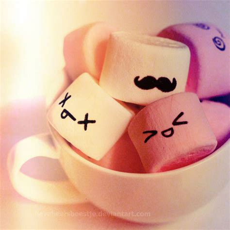 wallpaper tumblr marshmallow marshmallows are good but even better with a moustache