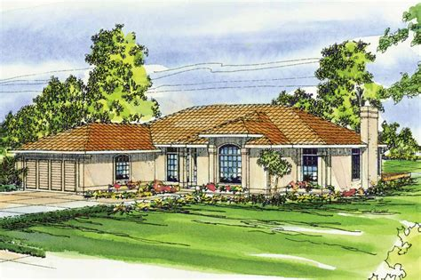 Mediterranean House Plans Mediterranean House Plans Plainview 11 079 Associated Designs