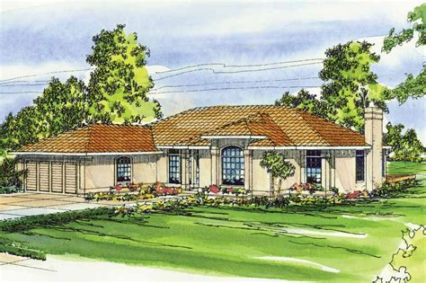Mediterranean House Plans   Plainview 11 079   Associated