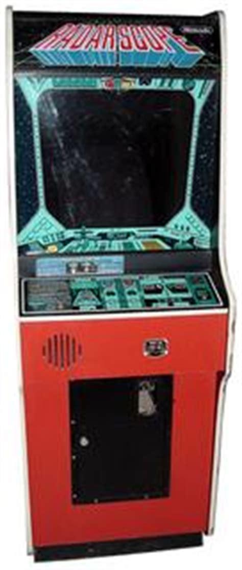 world of nintendo cabinet for sale radar scope videogame by nintendo