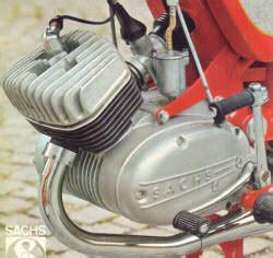 Sachs 250 Motor by Hercules K 50 Sport