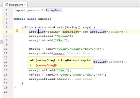 how to declare string in java java arraylist and string and object stack overflow