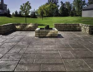 Stamped concrete patio installation do s and don ts