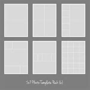 5x7 template 5x7 photo template pack collage photographers storyboard