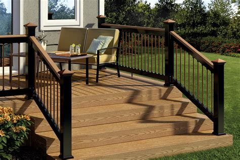 deckorators aluminum railing post caps at diy home center