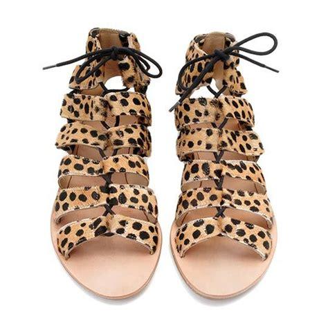 leopard gladiator sandals 17 best ideas about leopard sandals on animal