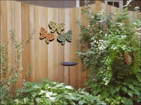Backyard Wall Decorating Ideas Exterior Wall Decorating Ideas Modern Home Exteriors