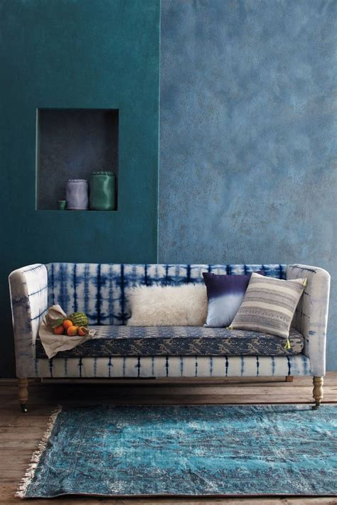 dying couch 17 beautiful decorative uses of shibori indigo patterns