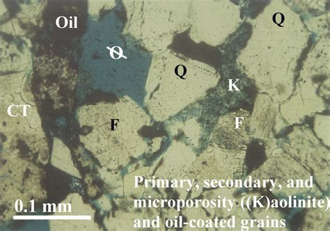 siderite in thin section petroleum geology of the house creek field 3 d reservoir
