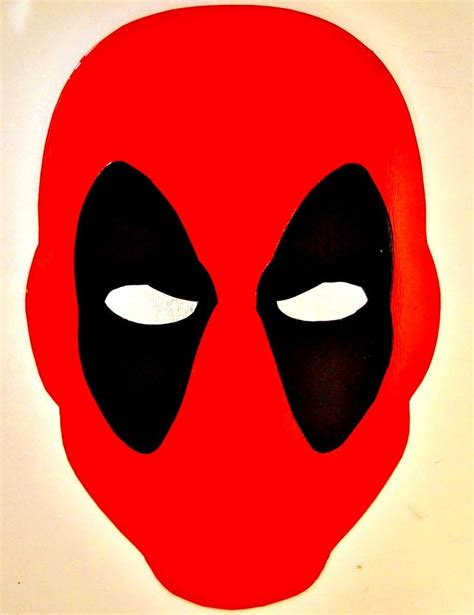 deadpool mask template 1000 ideas about deadpool mask on deadpool