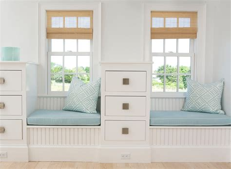 built in window seat nice diy storage bench ideas for easy organizing space