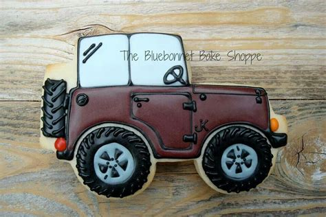 jeep cookies jeep cookies bluebonnet bake shoppe cookie boys