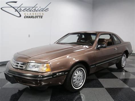 how does cars work 1989 ford thunderbird electronic valve timing f i 3 8 v8 4spd auto a c pwr steer brake low actl