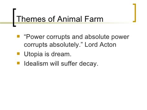 quotes on themes in animal farm animal farm introduction