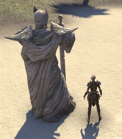 eso fashion ancient high elf statue elder scrolls