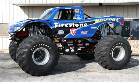 firestone bigfoot monster truck firestone bigfoot 2015 171 bigfoot 4 215 4 inc monster