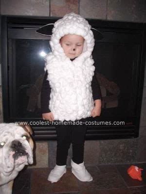 Handmade Sheep Costume - for a of us decided on a flock of