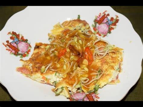 membuat omelette tahuaneka olahan telur ayam youtube