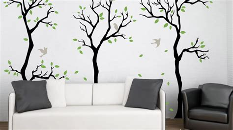 forest wall decal wall decor removable matte vinyl wall